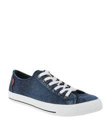 Levi's Heritage Lo Low Cut Denim Sneaker Dark Navy