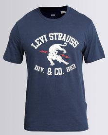 Levi's Panther T-Shirt Navy