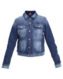 Levi's Authentic Trucker Jacket Blue