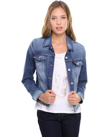 Levi's Authentic Trucker Jacket Blue