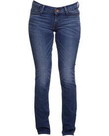 Levi's Low DC Stitch Straight Leg Jeans Blue