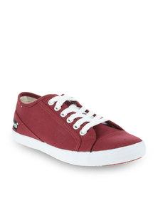 Levi's Andrea Sneakers Maroon