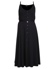 Lilly's Garrett Who's Your Mama Dress Black