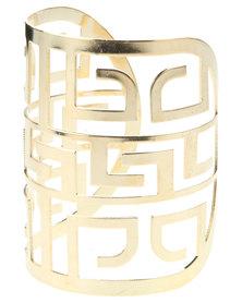 Lily & Rose Cuff Bracelet Gold-Tone