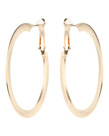 Lily & Rose Hoop Earrings Gold-Tone