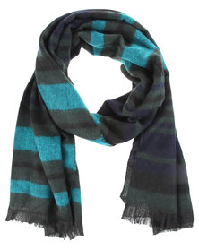 Lily & Rose Stripe Blanket Scarf Multi