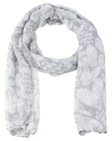 Lily & Rose Love You Heart Scarf Grey