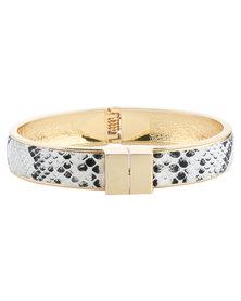 Lily & Rose Snakeskin Bracelet Multi