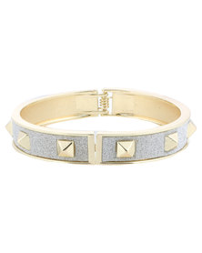 Lily & Rose Diamante Pyramid Bracelet Gold and Silver-Tone