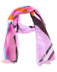 Lily and Rose Status Print Scarf Multi