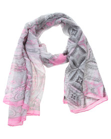 Lily and Rose Paisley Scarf Multi