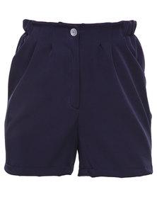 Linx Smart Shorts Navy