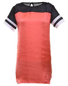 Linx Sporty Dress Orange