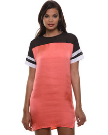 Linx Sporty Dress Orange