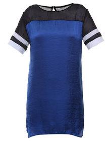 Linx Sporty Dress Cobalt