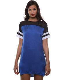 Linx Sporty Dress Cobalt
