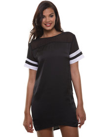 Linx Sporty Dress Black