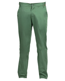 Linx Slim Fit Pants Green