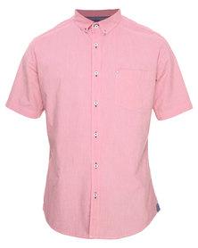 Linx Short Sleeve Shirt Pink