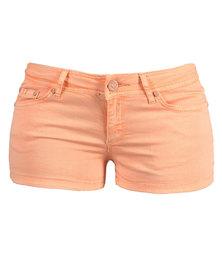 Linx Neon Shorts Orange