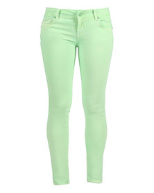 Linx Neon Jeans Green