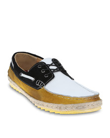 Linx Espadrille Boat Shoes Yellow