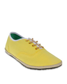 Linx Espadrille Casual Shoes Yellow