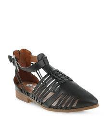 Linx Straps Fashion Shoes Black