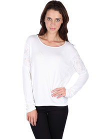Linx Batwing Panel Top White
