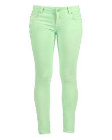 Linx Neon Jeans Green