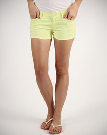 Linx Neon Shorts Yellow