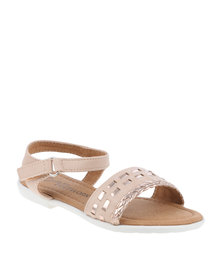 Little Miss Footwork Penny Flat Sandal Pink