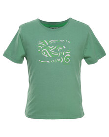 Lizzard Tile Basic Tee Mint