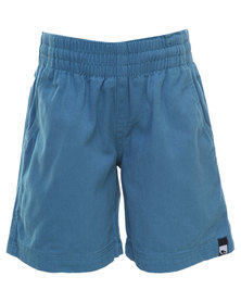 Lizzard  Runabouts Elasticated Walkshorts Teal