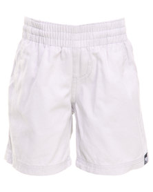 Lizzard  Runabouts Elasticated Walkshorts White