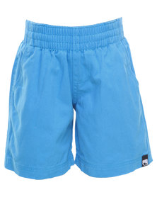 Lizzard Runabouts Elasticated Walkshorts Blue