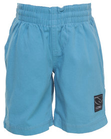 Lizzard W Short Elasticated Blue