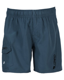 Lizzard Cono E tots Elasticated Walkshorts Blue