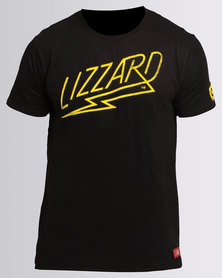 Lizzard Zuriel Tee Black
