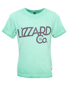 Lizzard Mishem Tee Mint Green