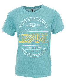 Lizzard Randy Tee Capri Breeze Blue