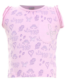 Lizzy Lexi-Tots Styled Tee Lilac