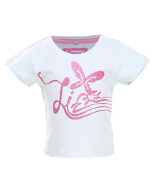 Lizzy Papermoon-Tot Girls Basic S/S Tee White
