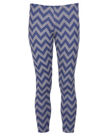 Lizzy Goldina Leggings Navy