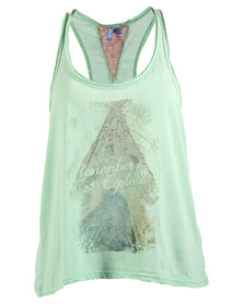 Lizzy Java Tank Top Green