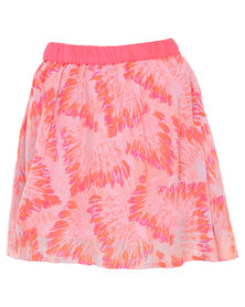 Lizzy Monologlo Skirt Coral