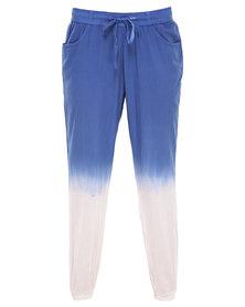 Lizzy Madon Pants White/Blue