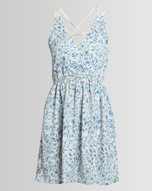 Lizzy Anais Ladies Styled Dress Blue