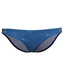 Lizzy Endid Bikini Bottom Blue