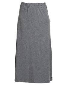 Lizzy Lillah Maxi Skirt Grey